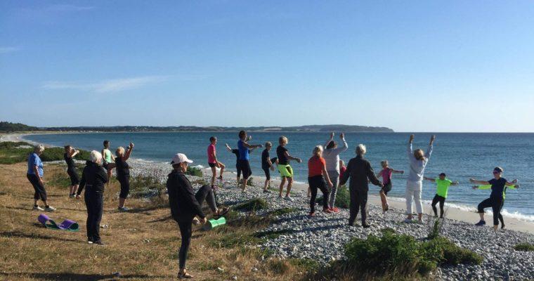 'Pop-up' træning i naturen – for både krop, sind og smilebånd